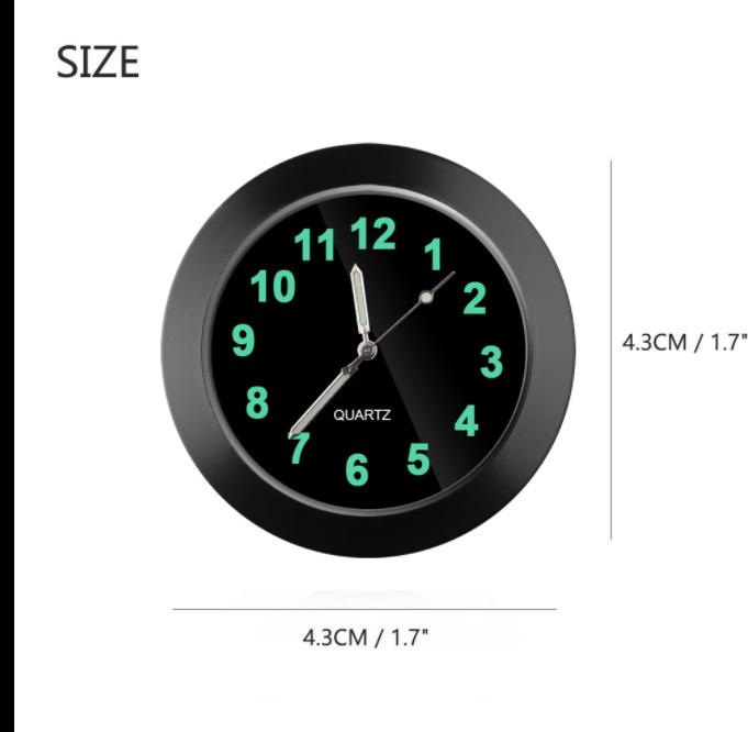 車時計 装飾チャーム 室内 装飾時計 車のアクセサリー_画像6