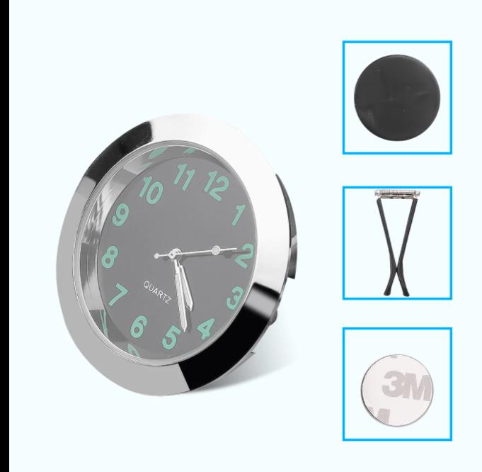 車時計 装飾チャーム 室内 装飾時計 車のアクセサリー_画像4