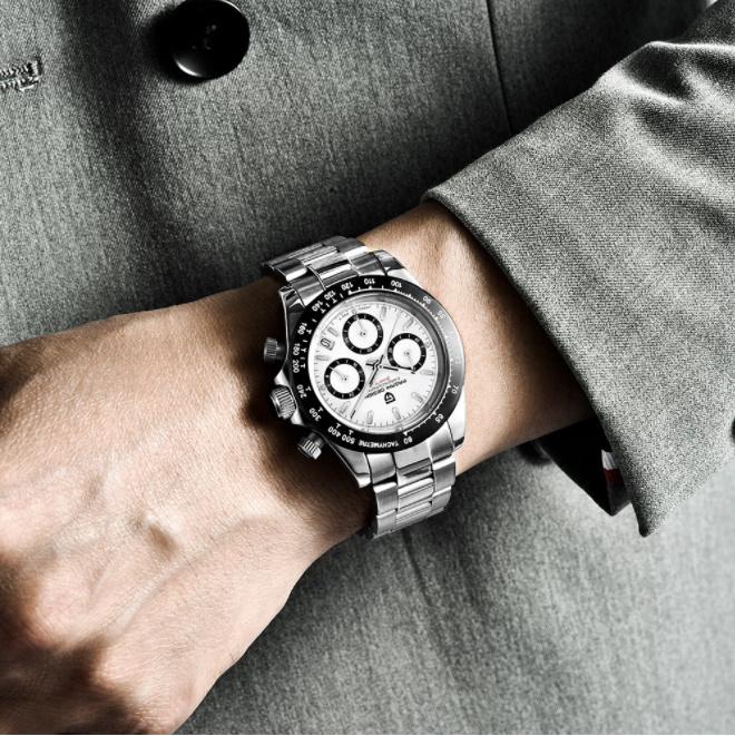 パガーニデザイントップブランド男性スポーツ時計の高級メンズ防水腕時計新ファッションカジュアルメンズ腕時計レロジオmasculino_画像5