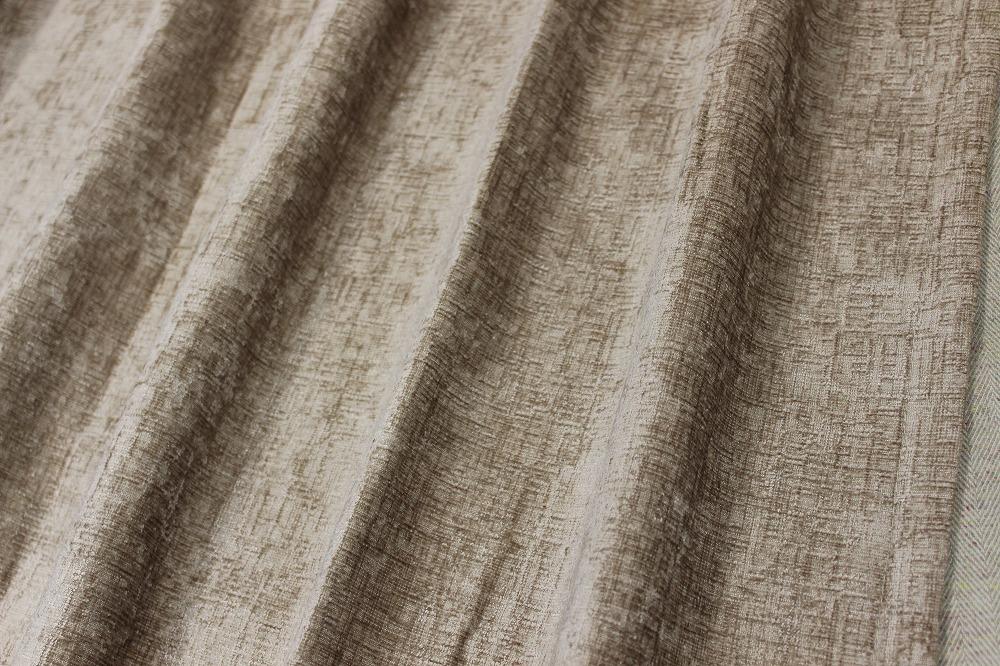 ☆厚地ドレープカーテン:100×110cm:2枚 BE/無地系/エターナル/M型プリーツ☆A986_画像2