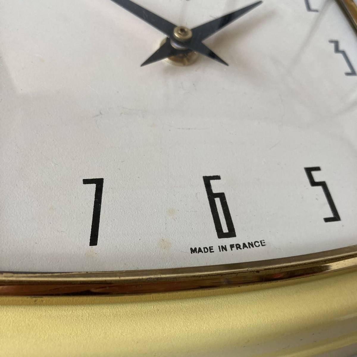 フランス ヴィンテージ ウォールクロック ミッドセンチュリー インテリア ディスプレイ 店舗什器 掛け時計 デザイン_画像6