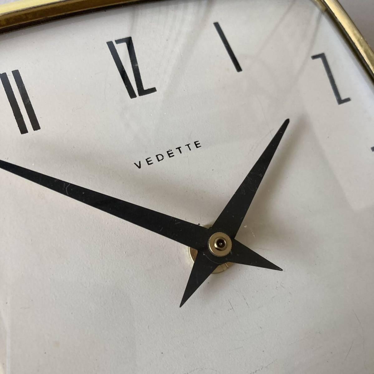 フランス ヴィンテージ ウォールクロック ミッドセンチュリー インテリア ディスプレイ 店舗什器 掛け時計 デザイン_画像5