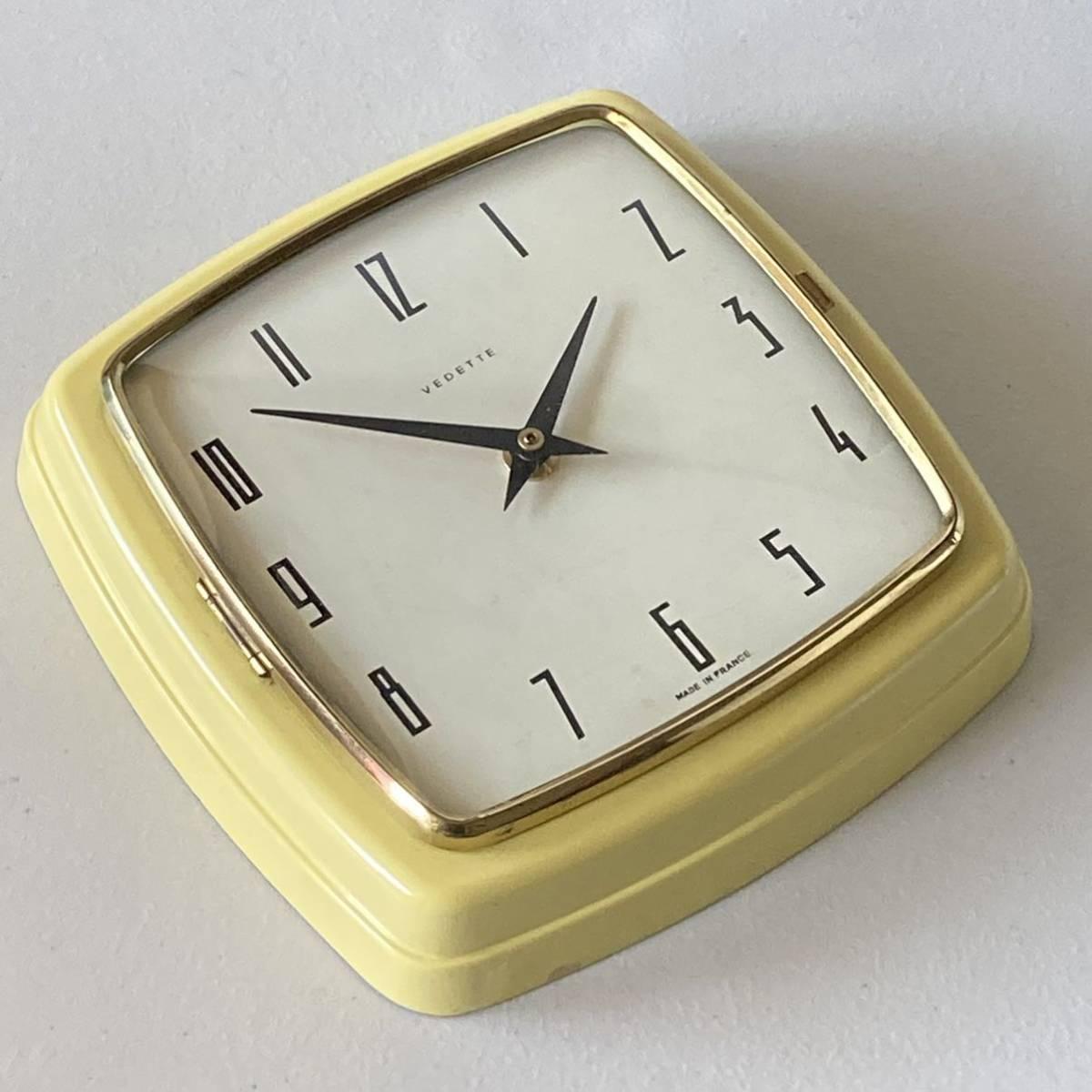 フランス ヴィンテージ ウォールクロック ミッドセンチュリー インテリア ディスプレイ 店舗什器 掛け時計 デザイン_画像3