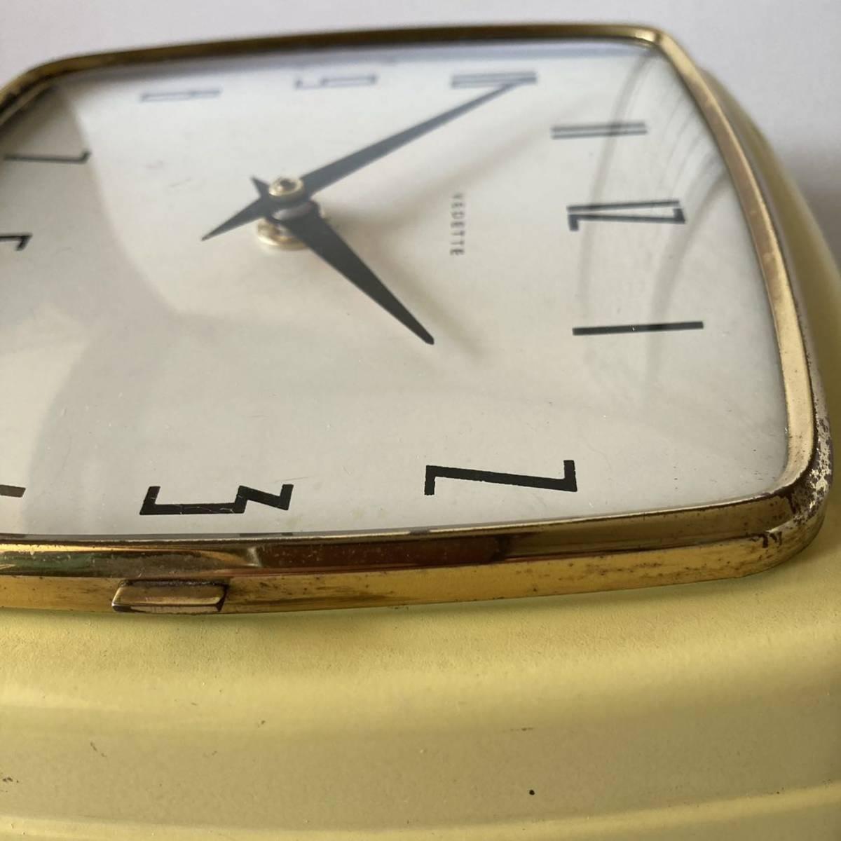 フランス ヴィンテージ ウォールクロック ミッドセンチュリー インテリア ディスプレイ 店舗什器 掛け時計 デザイン_画像9