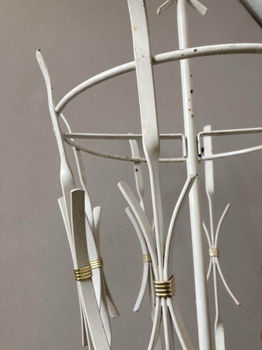 ドイツ50's ヴィンテージ アンブレラスタンド 傘立て ミッドセンチュリー デザイン ディスプレイ 店舗什器 アンティーク_画像8