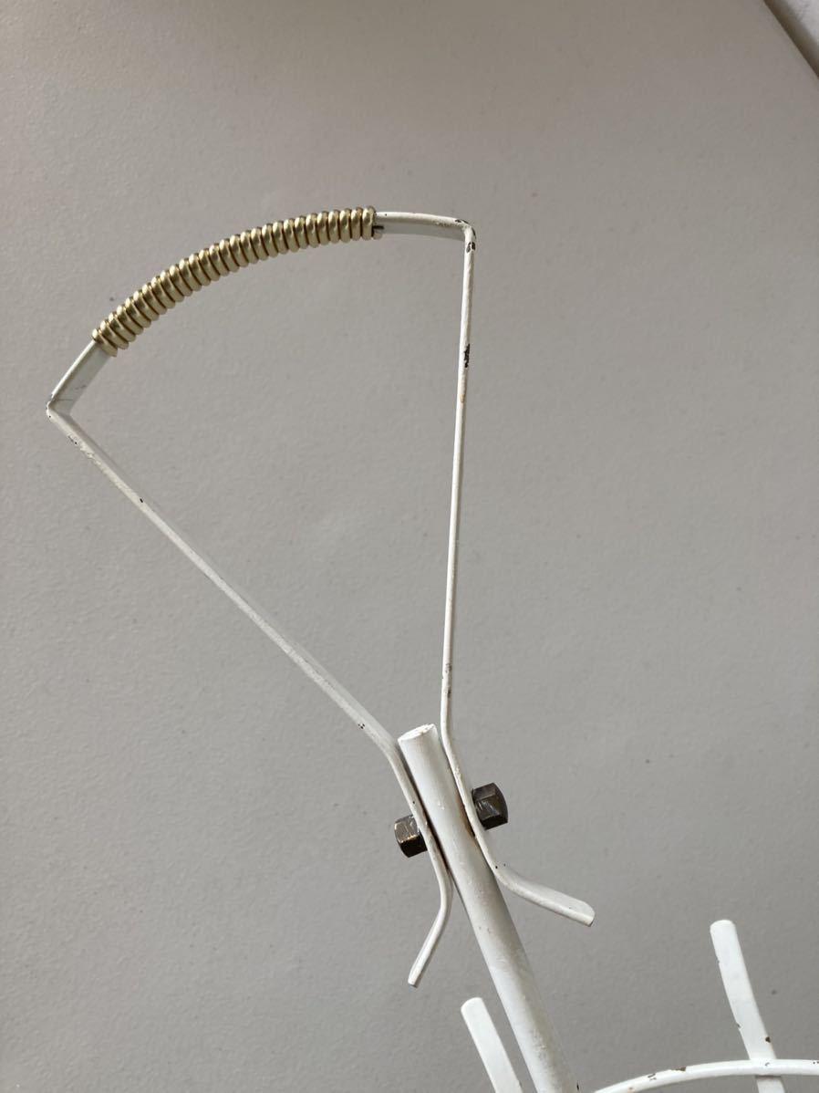 ドイツ50's ヴィンテージ アンブレラスタンド 傘立て ミッドセンチュリー デザイン ディスプレイ 店舗什器 アンティーク_画像9