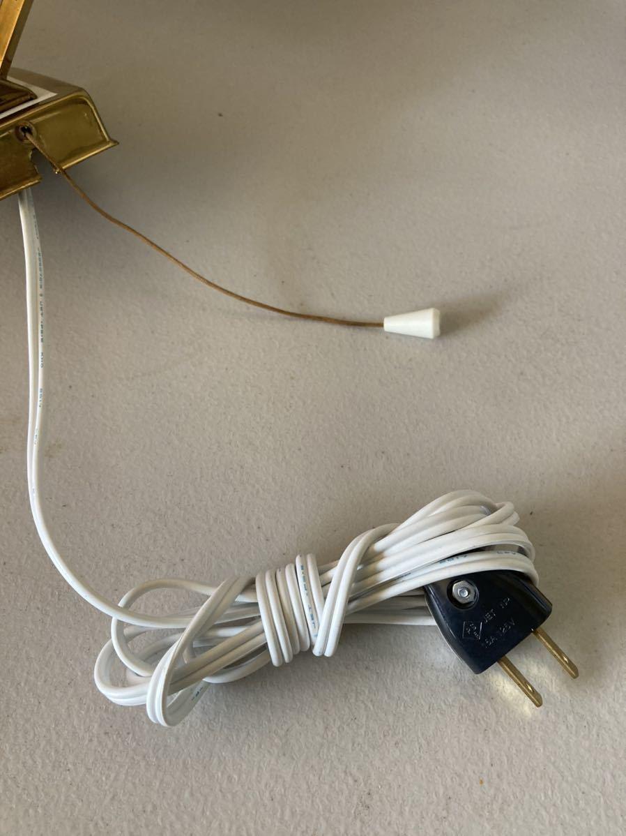 ドイツ50's ヴィンテージ ウォールランプ ブラケットランプ ガラスシェード アンティーク インテリア ディスプレイ 照明デザイン 店舗什器_画像10