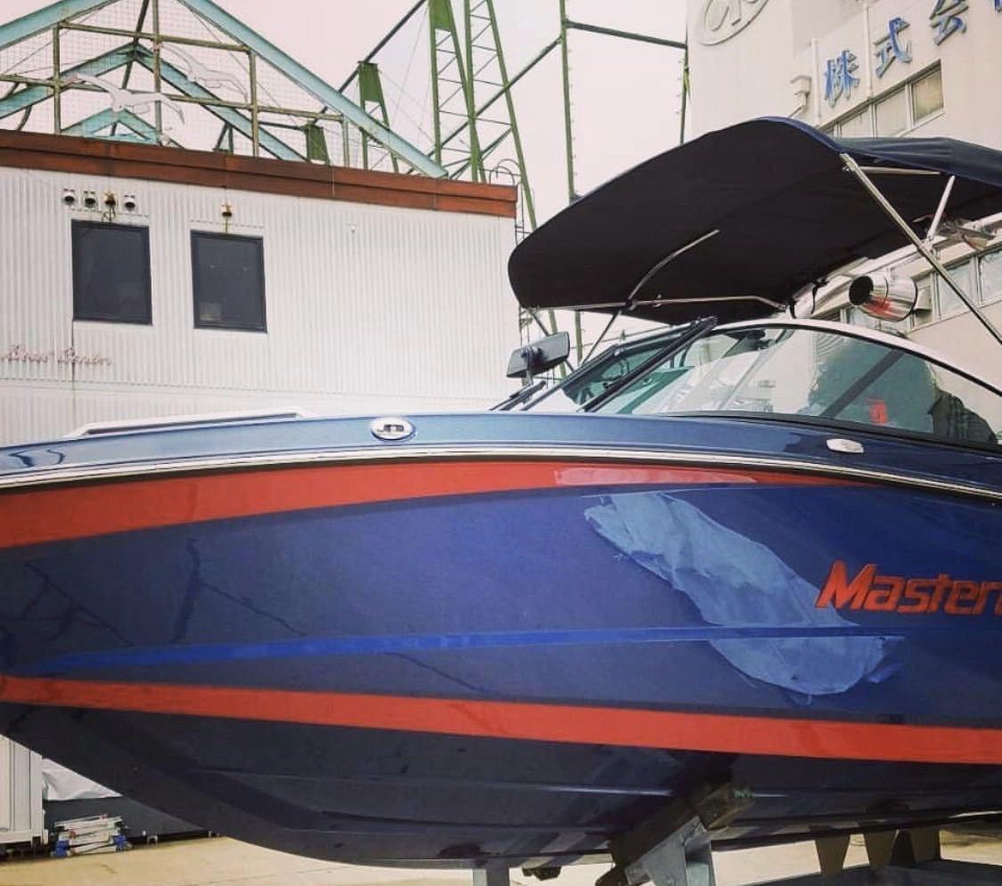 「マスタークラフト(Master Craft)XT21 アメリカ製 ボート プレジャーボート ウェイクボード ウェイクサーフィン マリンスポーツ」の画像2