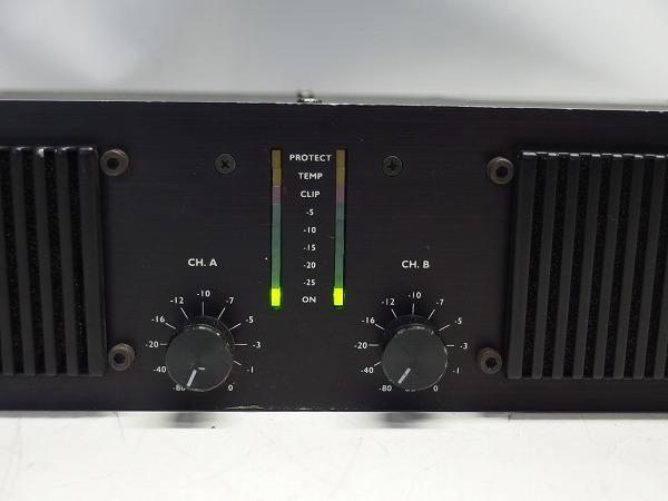 L-ACOUSTICS LA-17a LA17a 2CHパワーアンプ スピコン出力 *316101_画像3