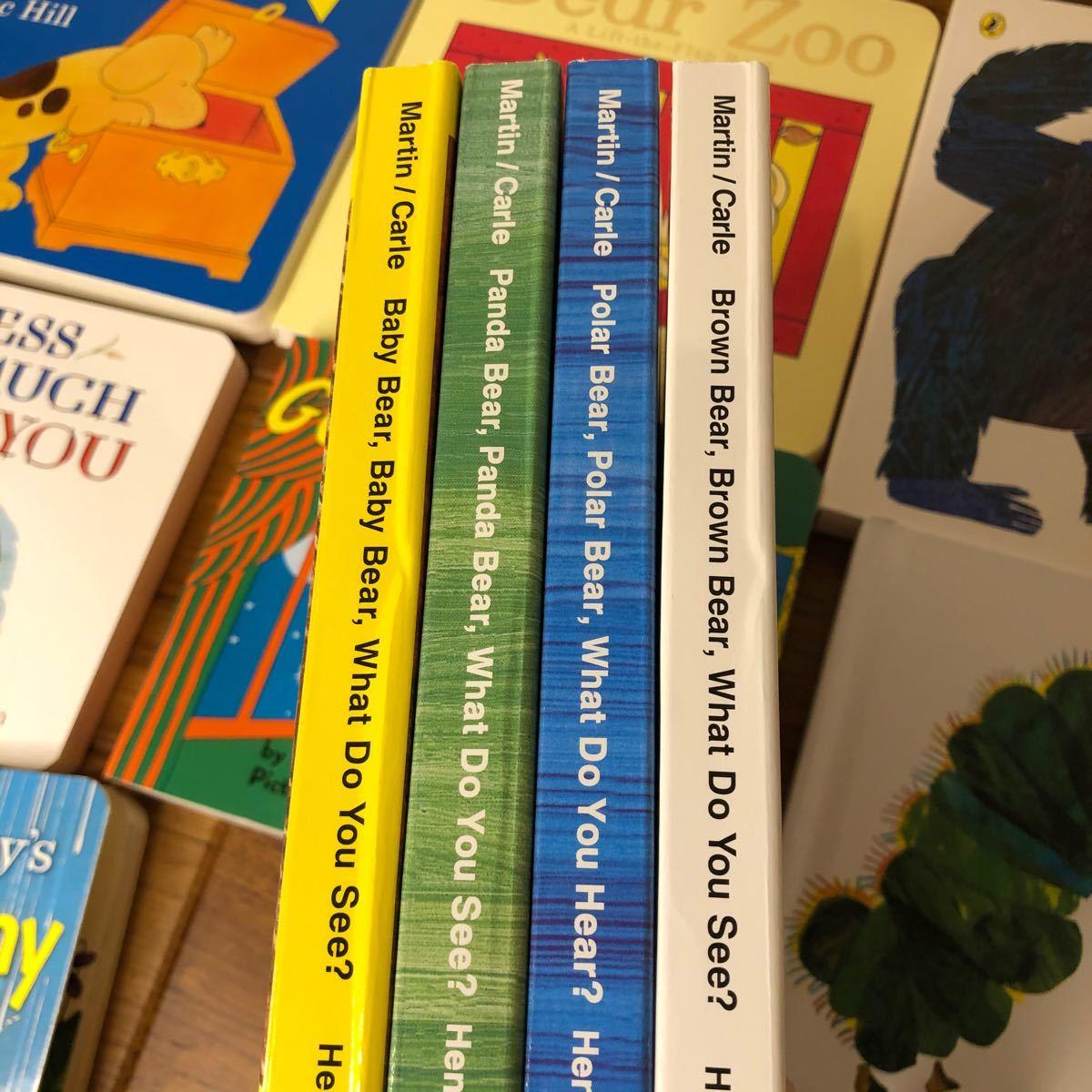 世界大人気英語絵本 12冊 ボードブック しかけ絵本 絵本セット