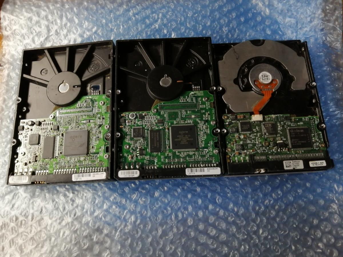 HDD 3台セット 3.5インチ IDE接続 ジャンク品