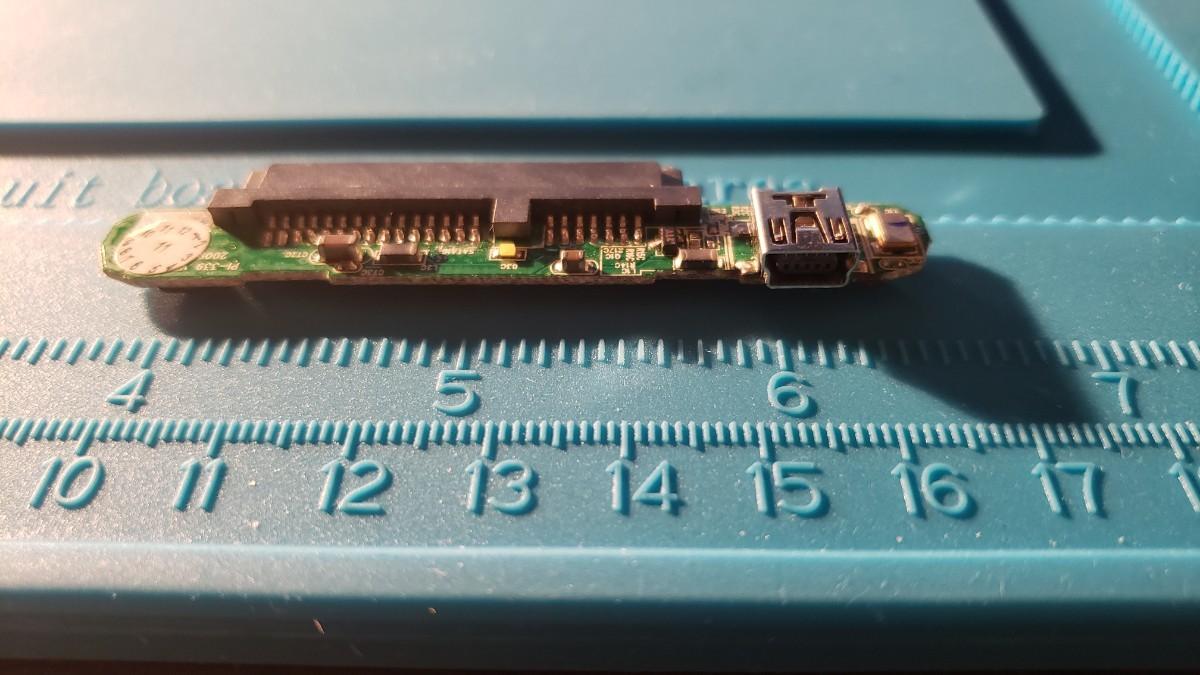 新品 東芝純正 2.5インチ ポータブルHDD 外付けHDD SATA USB2.0 変換アダプタ mini USB Type-B