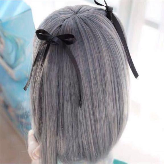 ◆新品◆ オビツ ob11 BJD 1/3 パラボックス 服 人形 ウィッグ カツラ ウイッグ 髪の毛 のみ ドール ヘッド ブライス SD 耐熱_画像4