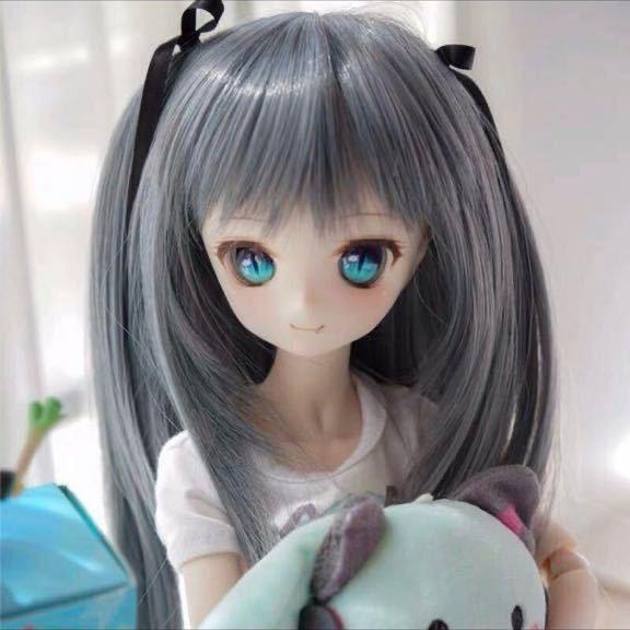 ◆新品◆ オビツ ob11 BJD 1/3 パラボックス 服 人形 ウィッグ カツラ ウイッグ 髪の毛 のみ ドール ヘッド ブライス SD 耐熱_画像1