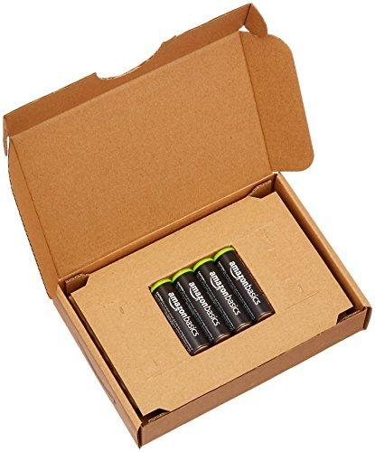 ベーシック 充電池 充電式ニッケル水素電池 単3形4個セット (最小容量1900mAh、約1000回使用可能)_画像4