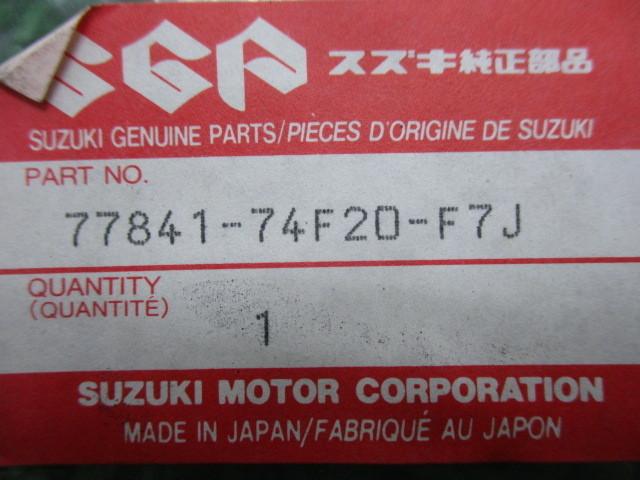 新品 スズキ 純正 バイク 部品 ワゴンR-RVターボ デカール 純正 在庫有 即納 在庫有り 即納可 車検 Genuine_画像3