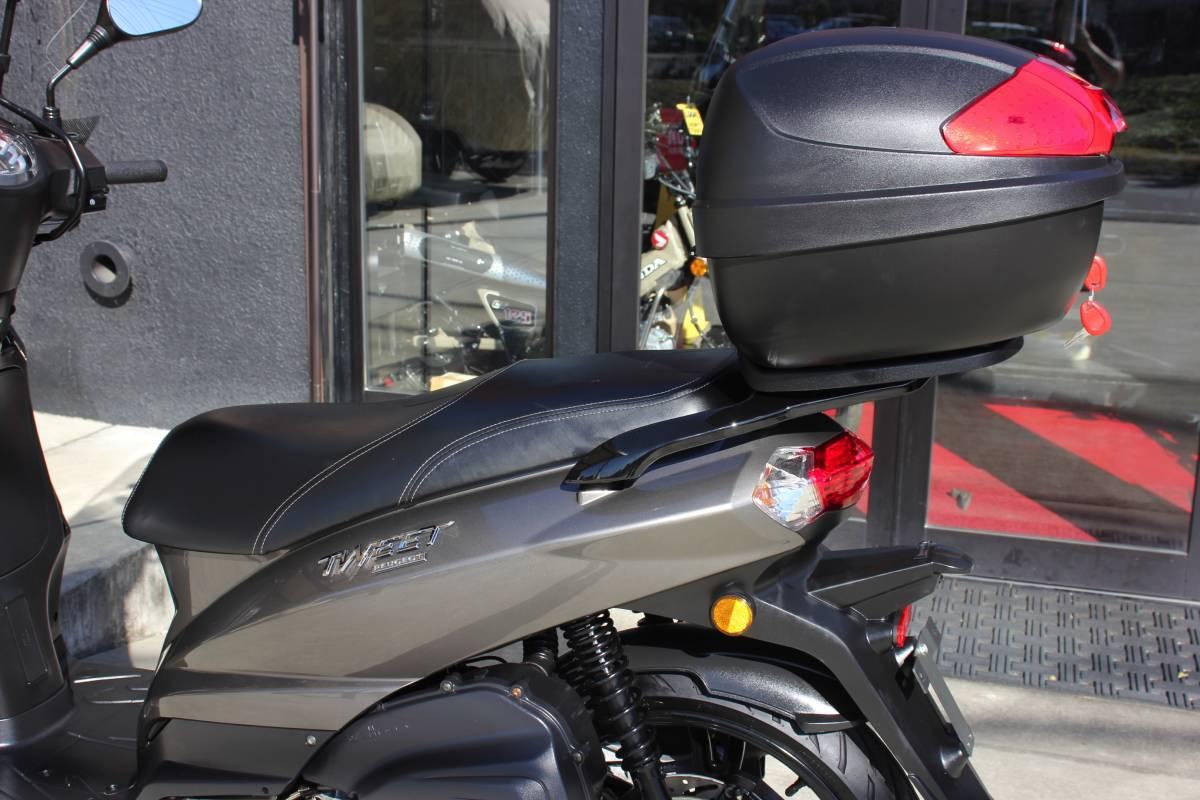 ●希少なスペシャルエディション!!★ PEUGEOT TWEET 150 ABS Special Edition プジョー ツイート ★低走行777km!!★お洒落な スクーター ★_画像7