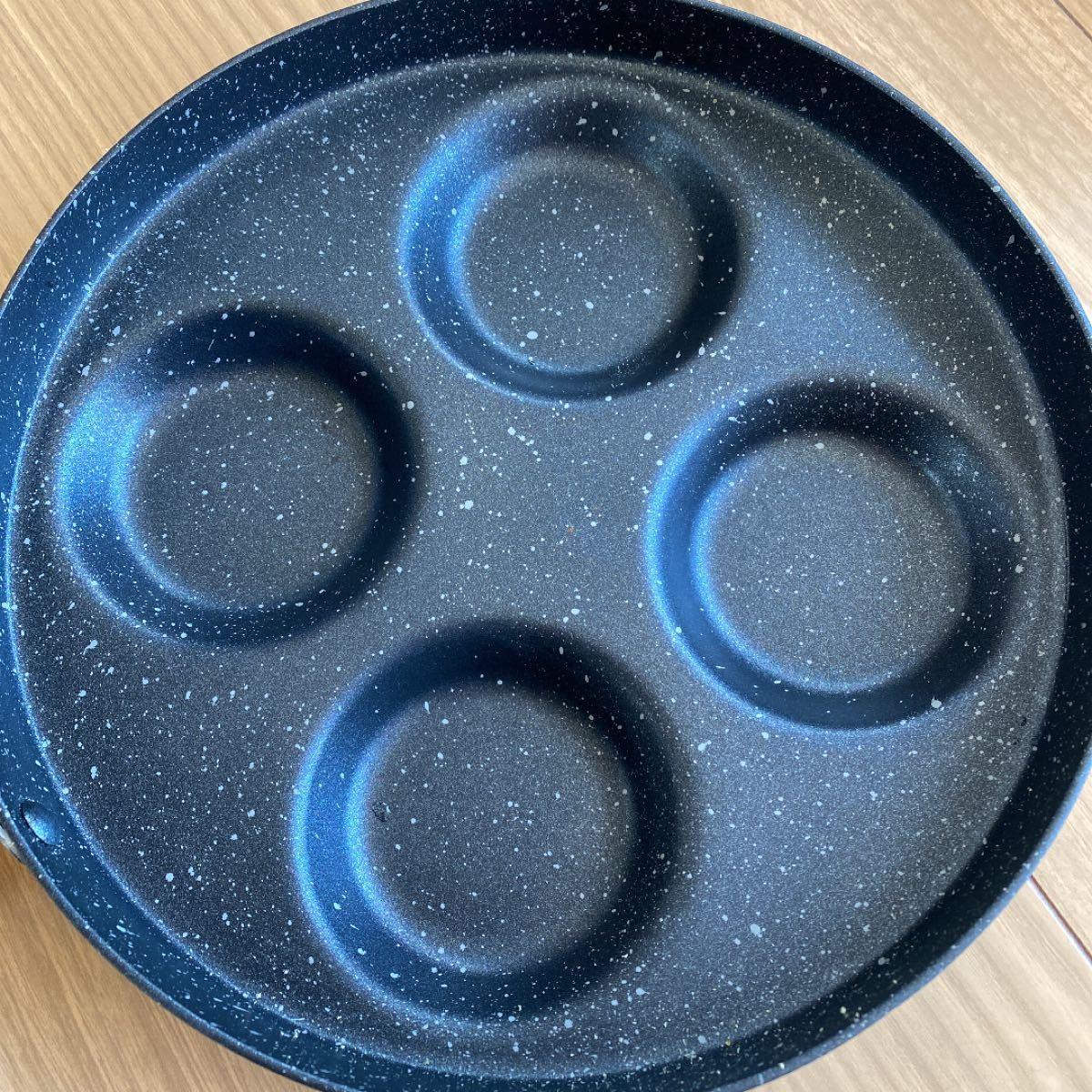 フライパン 卵焼き用フライパン たまごやき 4個取り ガス専用