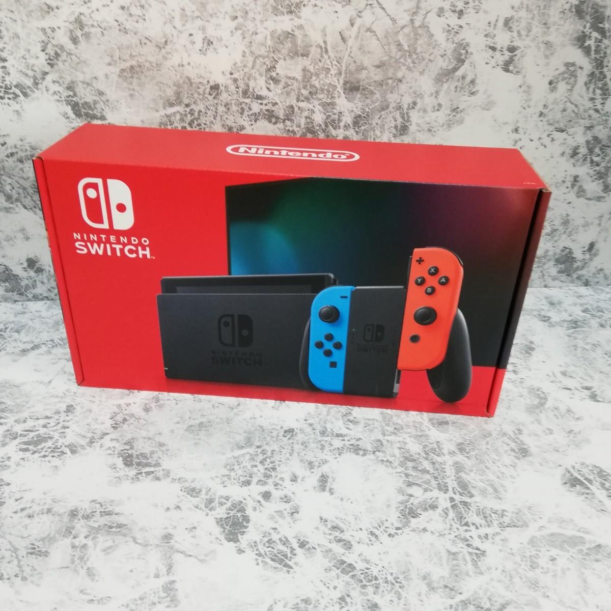 新品 ニンテンドースイッチ本体 Nintendo Switch ネオンブルー ネオンレッド 任天堂