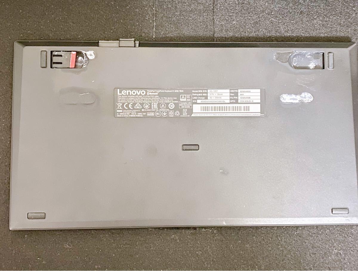 Lenovo ワイヤレス トラックポイントキーボード2 日本語配列