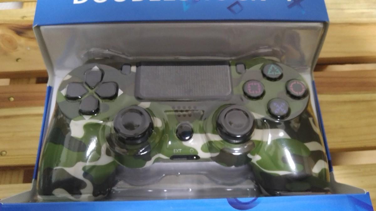 PS4コントローラー プレステ4コントローラー ジャイロセンサー 互換 迷彩柄