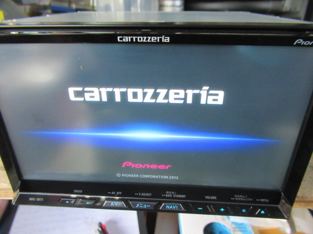 カロッツェリア HDDナビ AVIC-ZH77 フルセグ 地デジ 中古_画像9