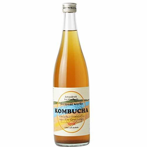 ferment works KOMBUCHA classic 720ml [国産無添加コンブチャ/紅茶キノコ]_画像6