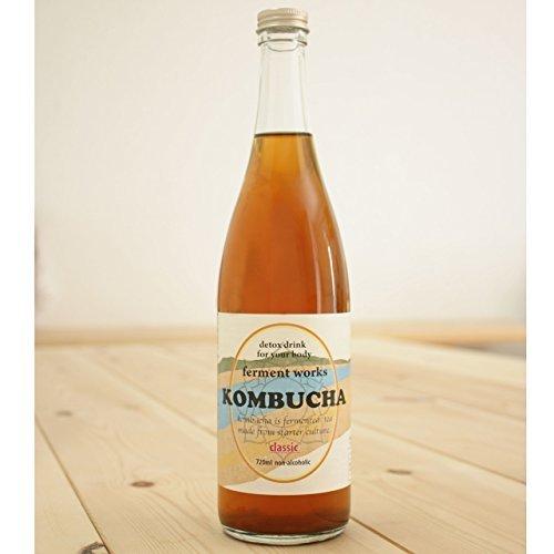 ferment works KOMBUCHA classic 720ml [国産無添加コンブチャ/紅茶キノコ]_画像5