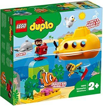 レゴ(LEGO) デュプロ 世界のどうぶつ サブマリンの水中探検 10910 知育玩具 ブロック おもちゃ 女の子 男の子_画像9
