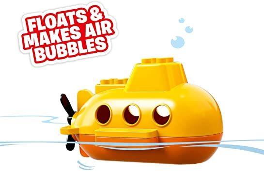 レゴ(LEGO) デュプロ 世界のどうぶつ サブマリンの水中探検 10910 知育玩具 ブロック おもちゃ 女の子 男の子_画像2