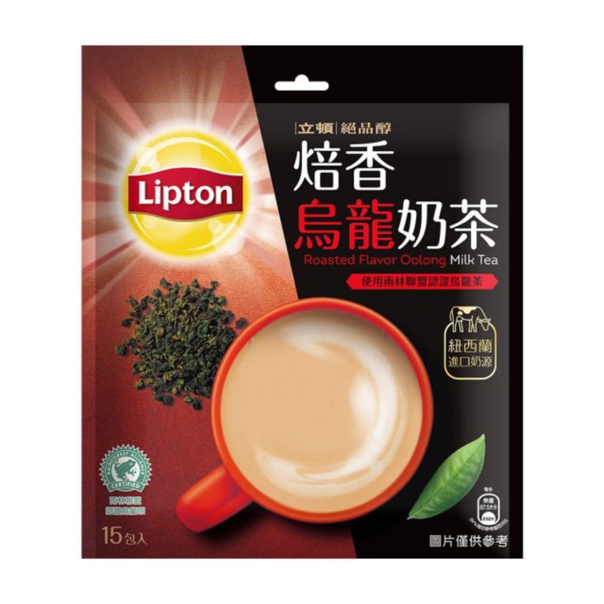 台湾 リプトン 焙香烏龍茶  ウーロンミルクティー