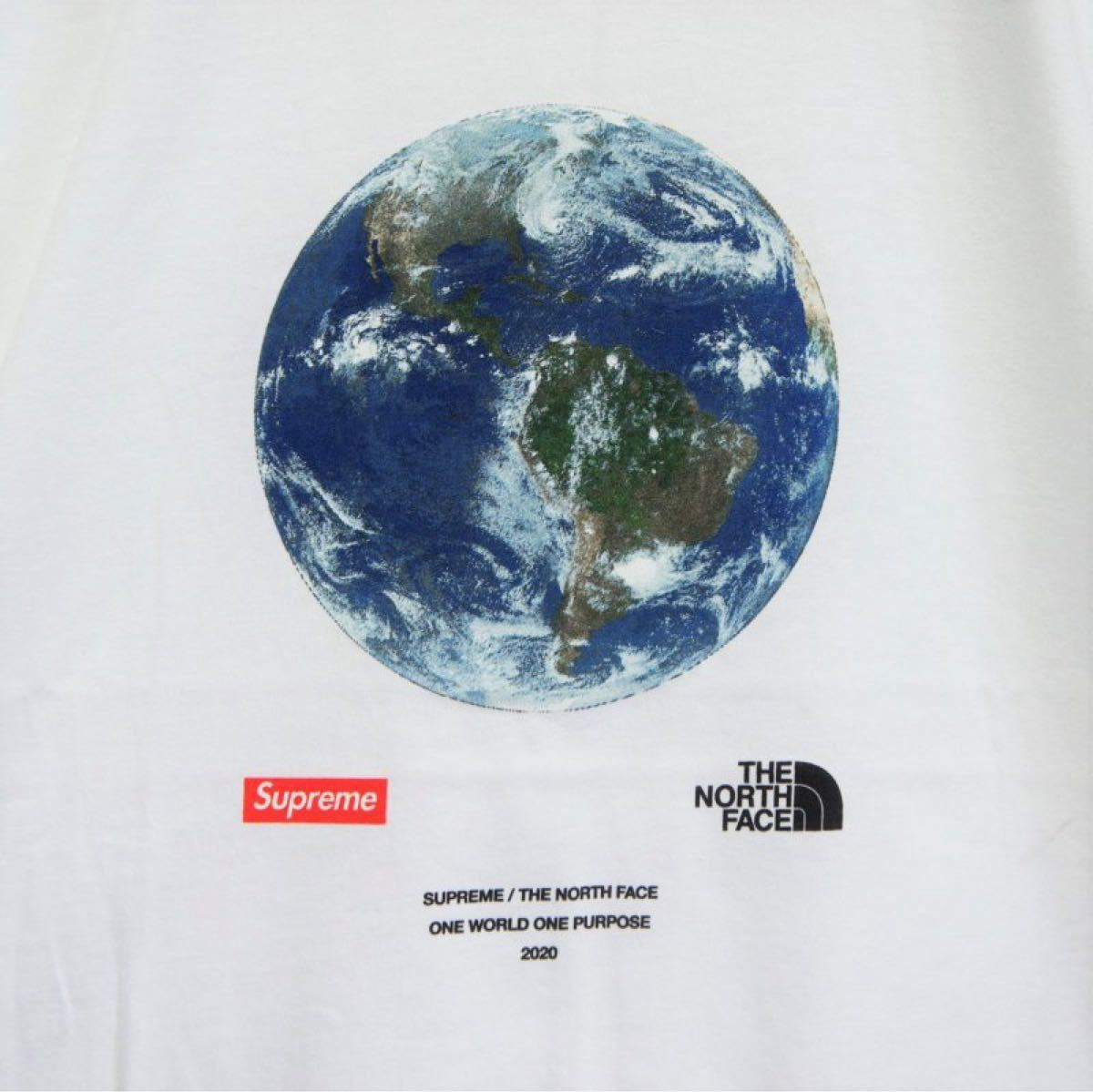 THE NORTH FACE Supreme Supreme/The North Face One World Tee L