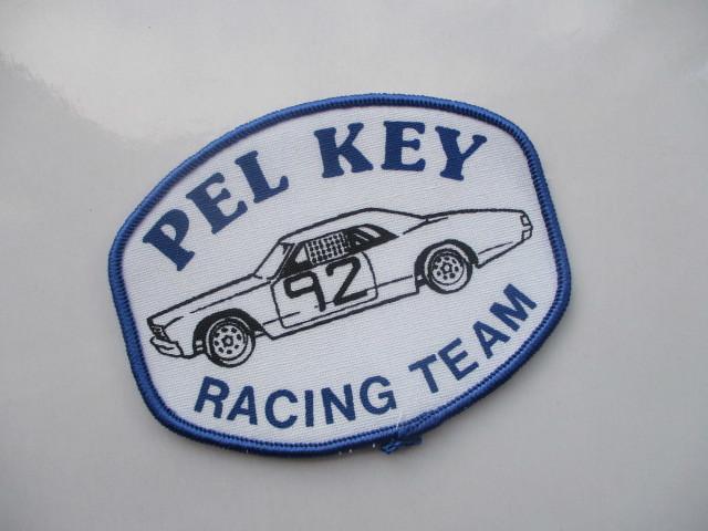 PEL KEY RACING TEAM 92 クラシックカー レーシングチーム ロゴ ワッペン/ F1 レーシング 自動車 カー用品 整備 作業着 カスタム 17_画像1