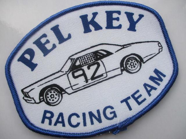 PEL KEY RACING TEAM 92 クラシックカー レーシングチーム ロゴ ワッペン/ F1 レーシング 自動車 カー用品 整備 作業着 カスタム 17_画像2