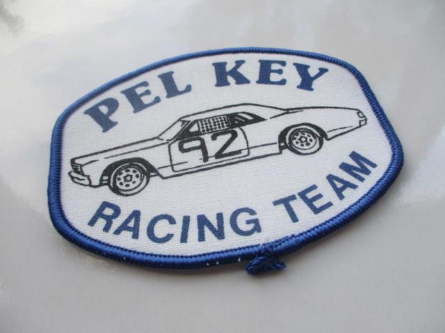 PEL KEY RACING TEAM 92 クラシックカー レーシングチーム ロゴ ワッペン/ F1 レーシング 自動車 カー用品 整備 作業着 カスタム 17_画像4