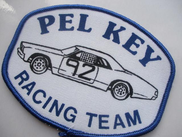 PEL KEY RACING TEAM 92 クラシックカー レーシングチーム ロゴ ワッペン/ F1 レーシング 自動車 カー用品 整備 作業着 カスタム 17_画像5