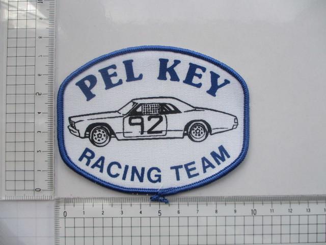 PEL KEY RACING TEAM 92 クラシックカー レーシングチーム ロゴ ワッペン/ F1 レーシング 自動車 カー用品 整備 作業着 カスタム 17_画像8