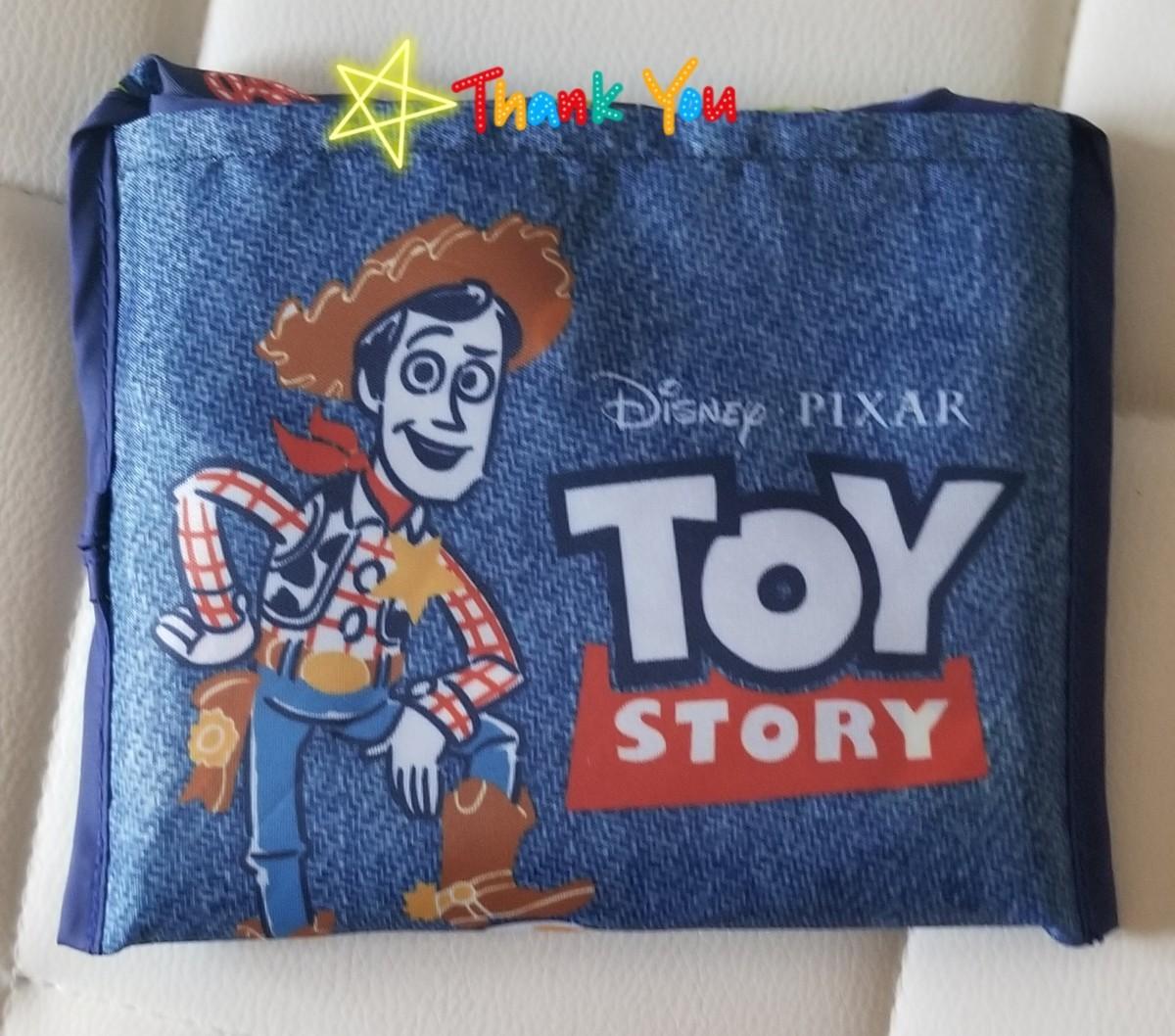 ディズニー トイ・ストーリー エコバッグ 折り畳みエコバッグ トートバッグ