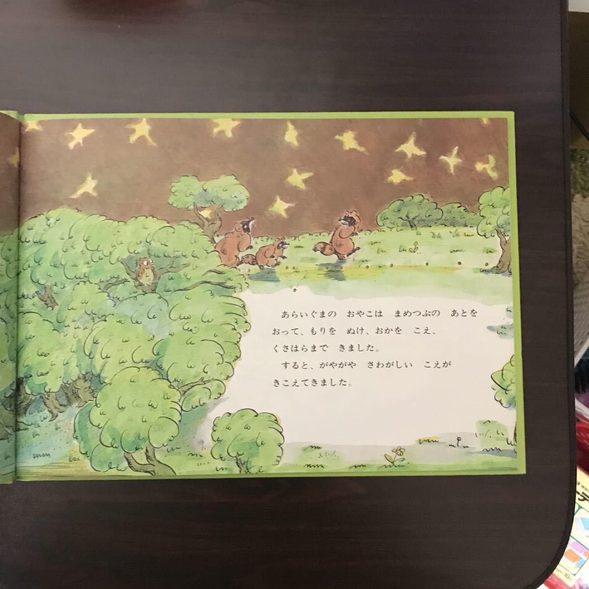 児童書 絵本 あらいぐまとねずみたち