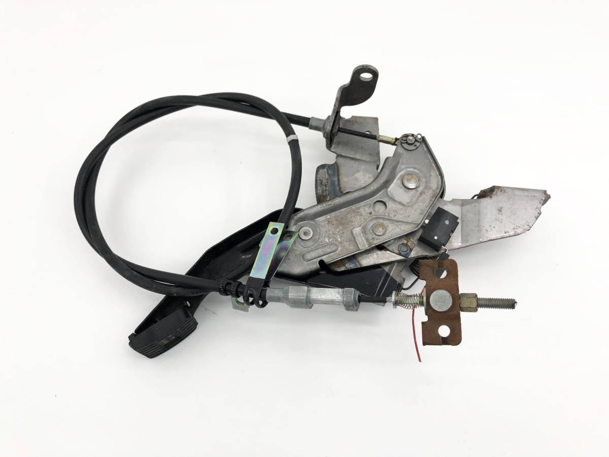 _b56627 ダイハツ MAX RS マックス LA-L952S サイドブレーキ ペダル ワイヤー ケーブル パーキング フット_画像1