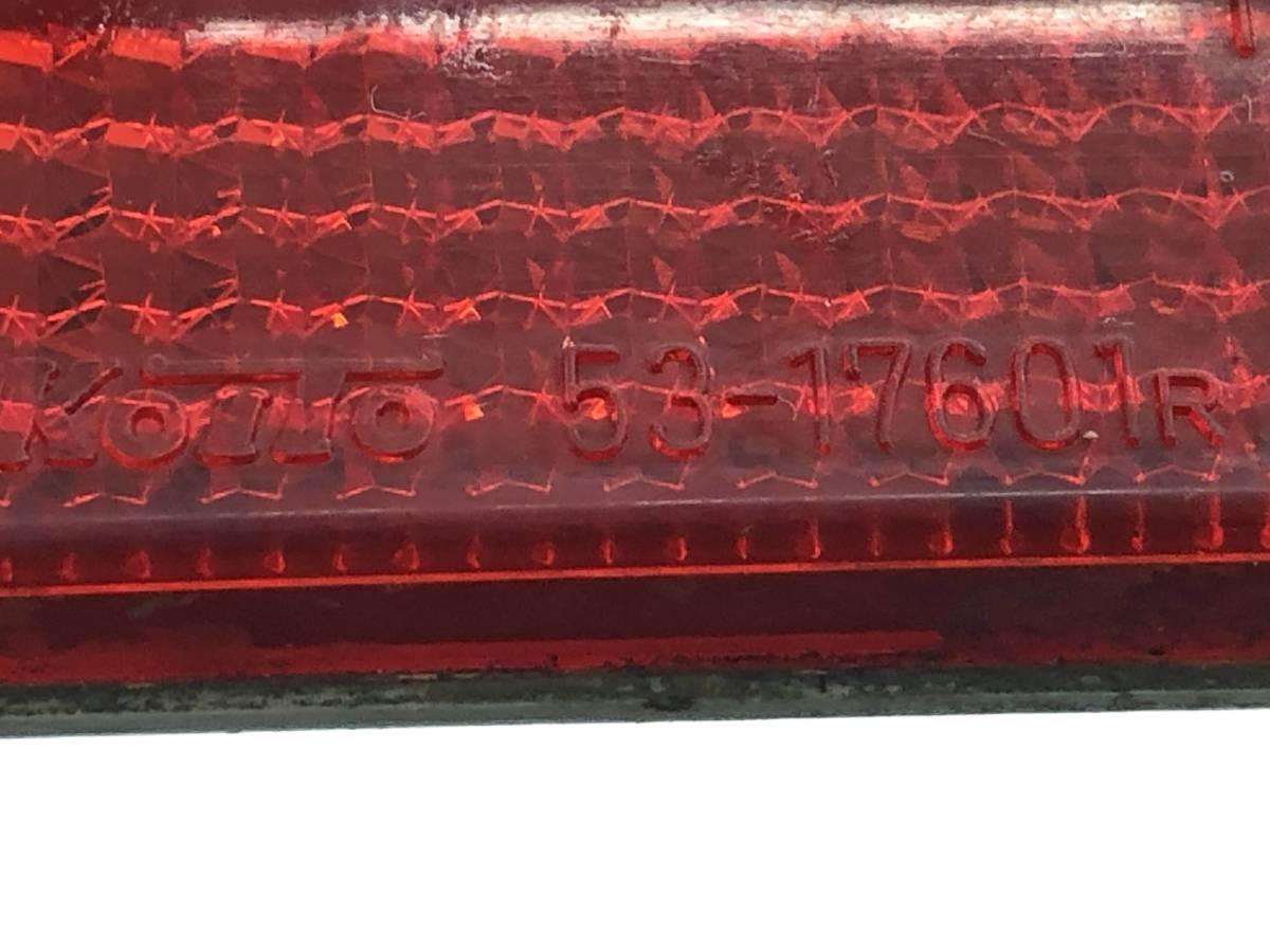 _b56627 ダイハツ MAX RS マックス LA-L952S リアバンパー リフレクター 反射板 リヤ 左右 LH RH KOITO 53-17601_画像4