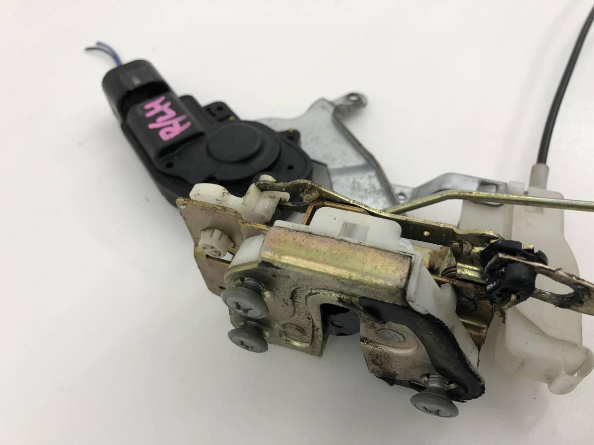 _b56627 ダイハツ MAX RS マックス LA-L952S リア リヤドア ロック アクチュエーター 左 R/LH インナーハンドル アウター L950S L960S L962_画像6