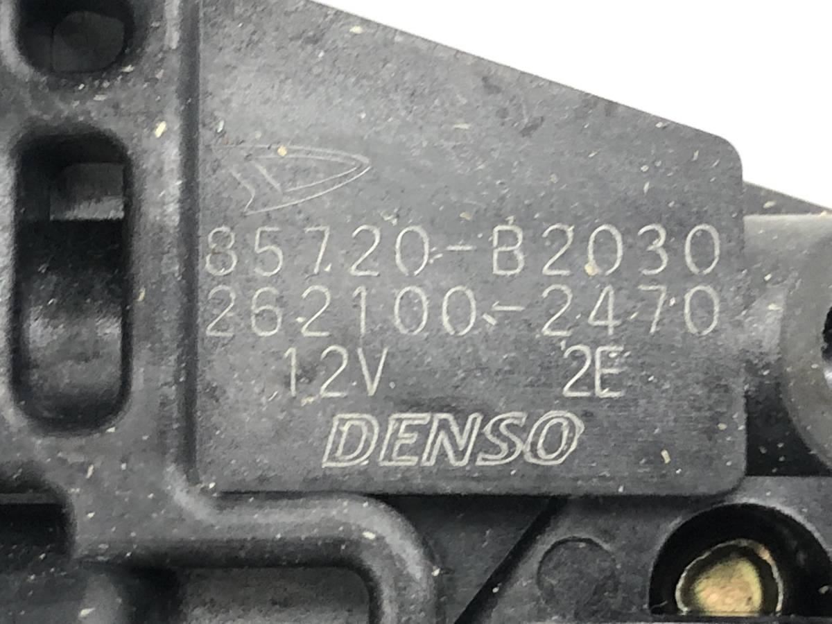 _b56627 ダイハツ MAX RS マックス LA-L952S リア リヤ 左 R/LH ドア ウインドウ レギュレーター 85720-B2030 / 262100-2470 L950S L960S_画像3