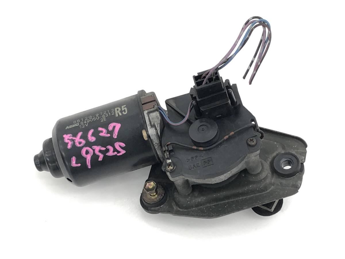 _b56627 ダイハツ MAX RS マックス LA-L952S フロント ワイパーモーター 85120-97213 / 849050-8312 L950S L960S L962S_画像1
