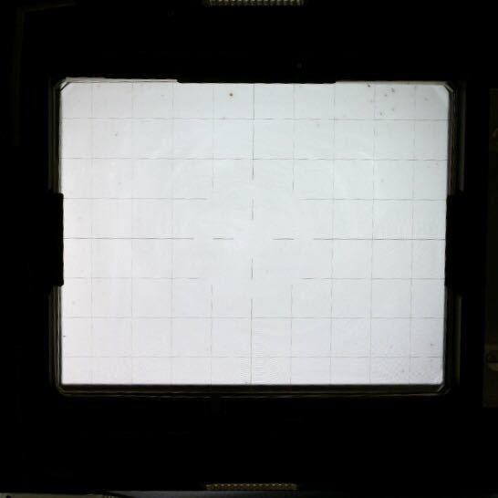 ジナー Sinar 4x5 大判カメラ用 スクリーンバック ピントスクリーン_画像5