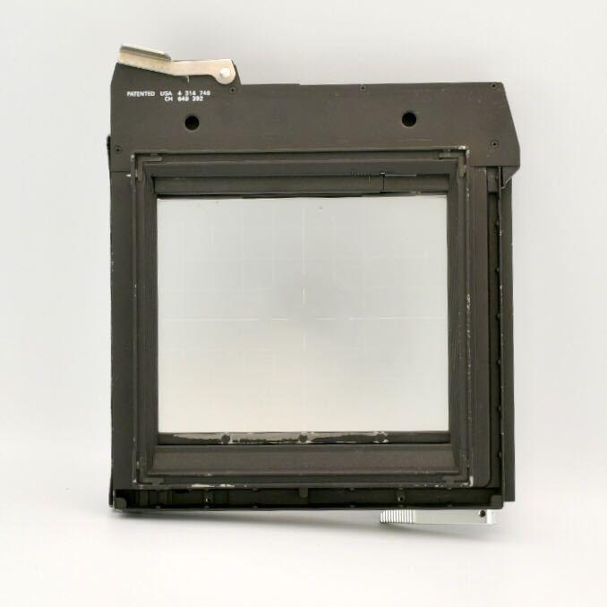 ジナー Sinar 4x5 大判カメラ用 スクリーンバック ピントスクリーン_画像2