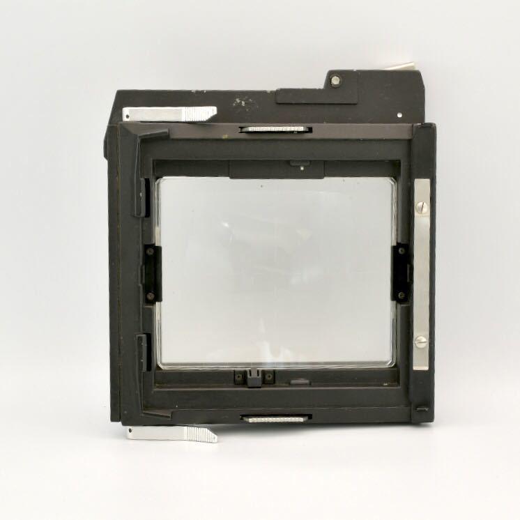 ジナー Sinar 4x5 大判カメラ用 スクリーンバック ピントスクリーン_画像1