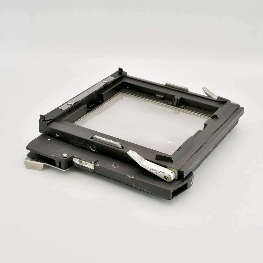 ジナー Sinar 4x5 大判カメラ用 スクリーンバック ピントスクリーン_画像4