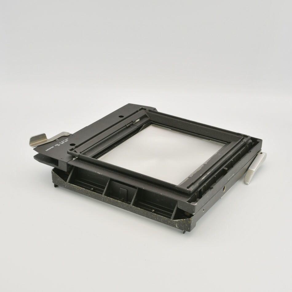 ジナー Sinar 4x5 大判カメラ用 スクリーンバック ピントスクリーン_画像3