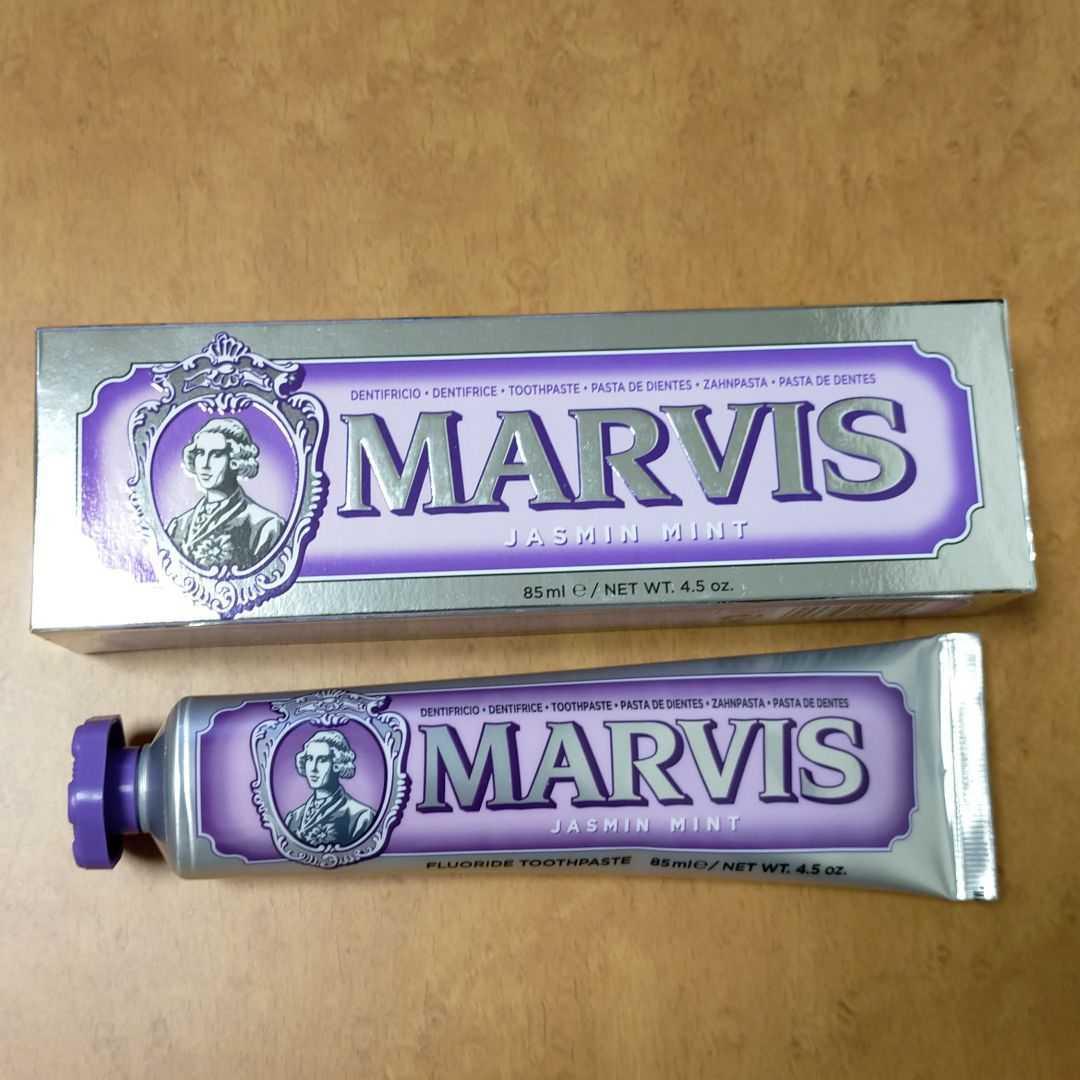 【匿名/送料込/新品】 MARVIS ジャスミン ミント 85mL 1本_画像1